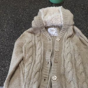 Justice size 7 girls cardigan
